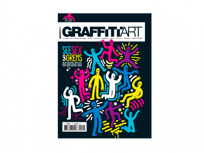 Graffiti Art magasine X Grems