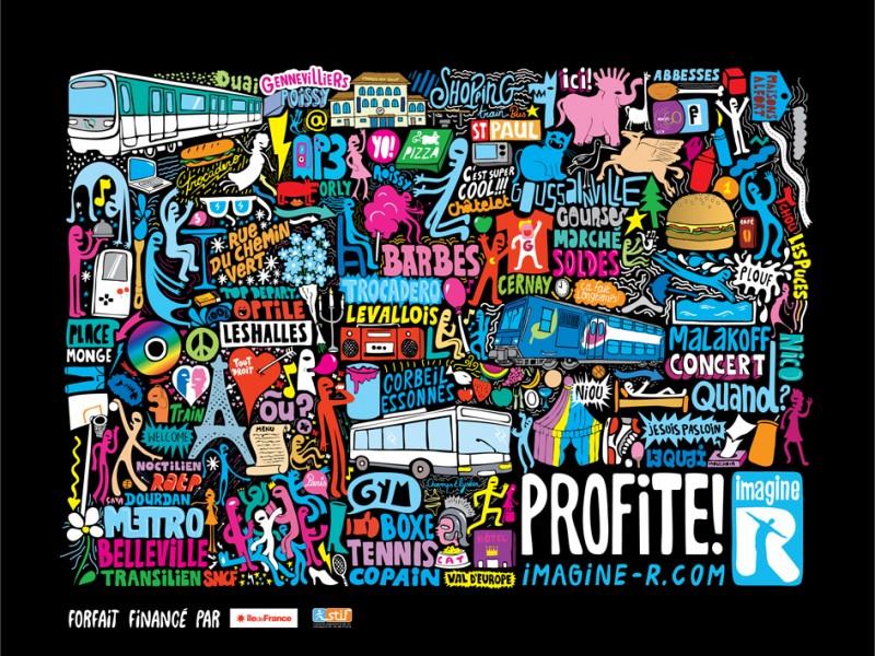Imagine R x Grems - Paris RATP